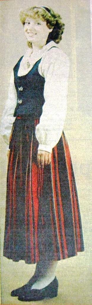 naisten puvun liivi Kauniainen